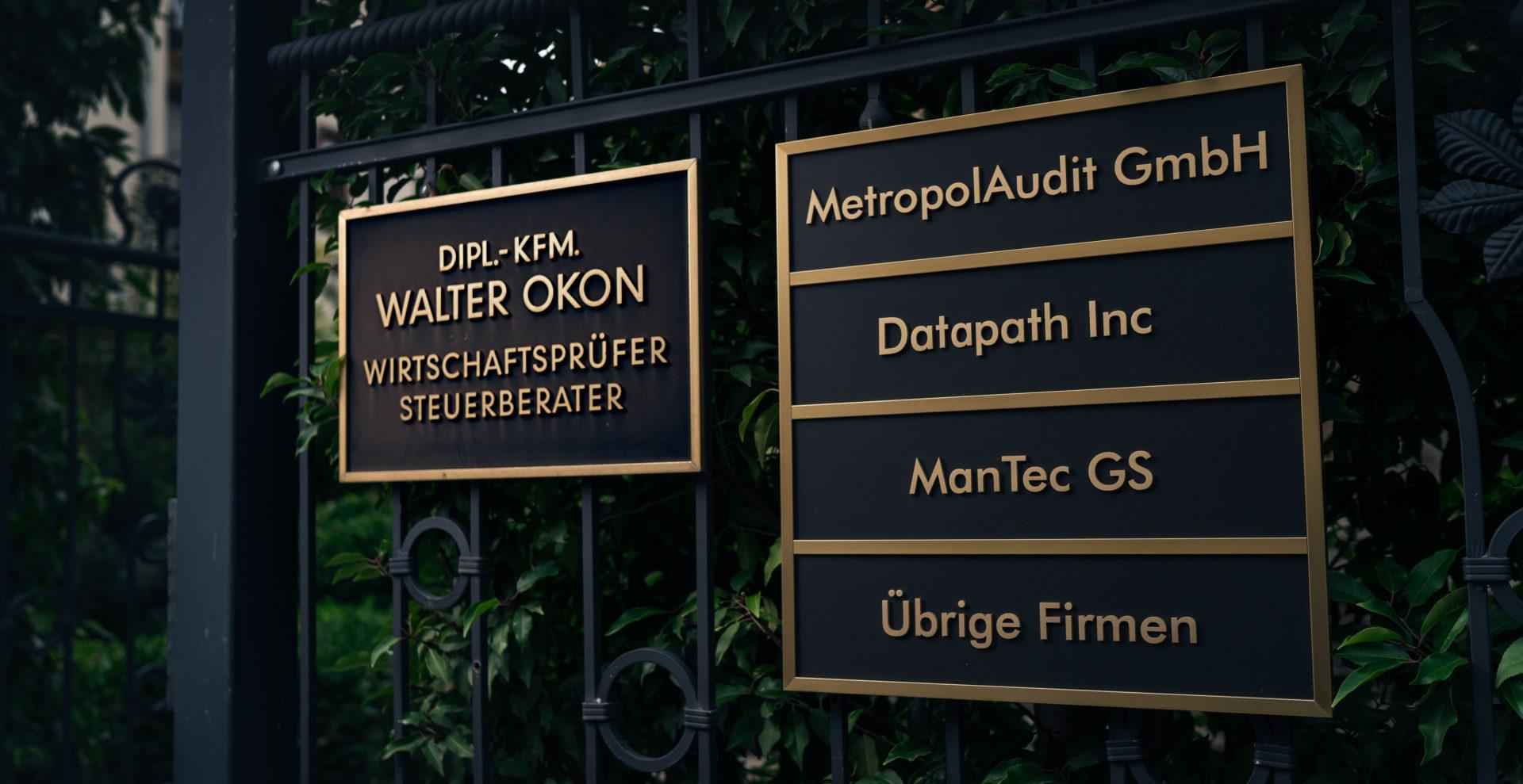 Wirtschaftsprüfung & Steuerberatung Walter Okon in Mannheim seit 20 Jahren Prüfung Konzernabschlussprüfungen und IFRS/IAS Prüfungen sowie von Finanzdienstleistern (BAFIN) und dem EEG (Gesetz für den Ausbau erneuerbarer Energien)